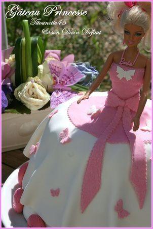 Gâteau princesse au nutella