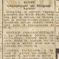 Vendredi 16 janvier 1942