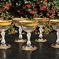 Coupes à champagne Saint Louis Lozère