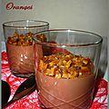 Crème chocolat oranges