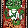 La dame au serpent