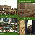 La chute du mur de berlin…
