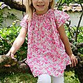 Mode fille : les placards de Sixtine fleurissent -> Blouse Liberty Betsy Bougainvilliers made by TANIOUCHKA <b>COUD</b>