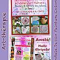 AWETE! Merci Beaucoup! <b>Atelier</b> <b>d</b>'<b>Art</b>-Thérapie (Indiens du Brésil) à AL C'ANTO le 11.04.2015