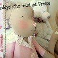 Teddys Chocolat et Fraise...