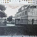 01 Post Haguenau - chateau de la Walk datée 1922
