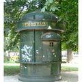 SOF kiosque vert