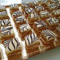 Zelliges (gourmandises aux cacahuètes et chocolat)