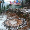fonte de la neige sur mandala yurtao