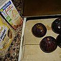 Flocons d'avoine au lait d'amande et aux figues roties