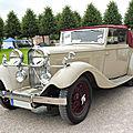 <b>TALBOT</b> AV105 drophead coupé James Young 1934