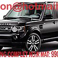 Land Rover <b>Discovery</b>, Land Rover <b>Discovery</b>, covering Land Rover <b>Discovery</b>, Land Rover <b>Discovery</b> noir mat