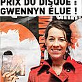 La chanteuse Gwennyn: grand prix du disque