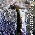 Purple rose cake pour les 3 ans de