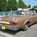 Mercury monarch 4door sedan 1977