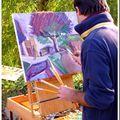 Le peintre au travail