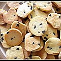 Petits biscuits aux olives (fekkas)