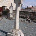 Quartier de Saint-Florent, croix de cimetière