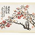 <b>WU</b> <b>Changshuo</b>, Album with Ink Paintings and Calligraphy, 1920s