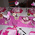 mon manège à décoration de table enfant