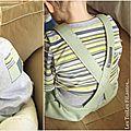 5-Ensemble gris vert amande salopette tee-shirt sweat sans manches15