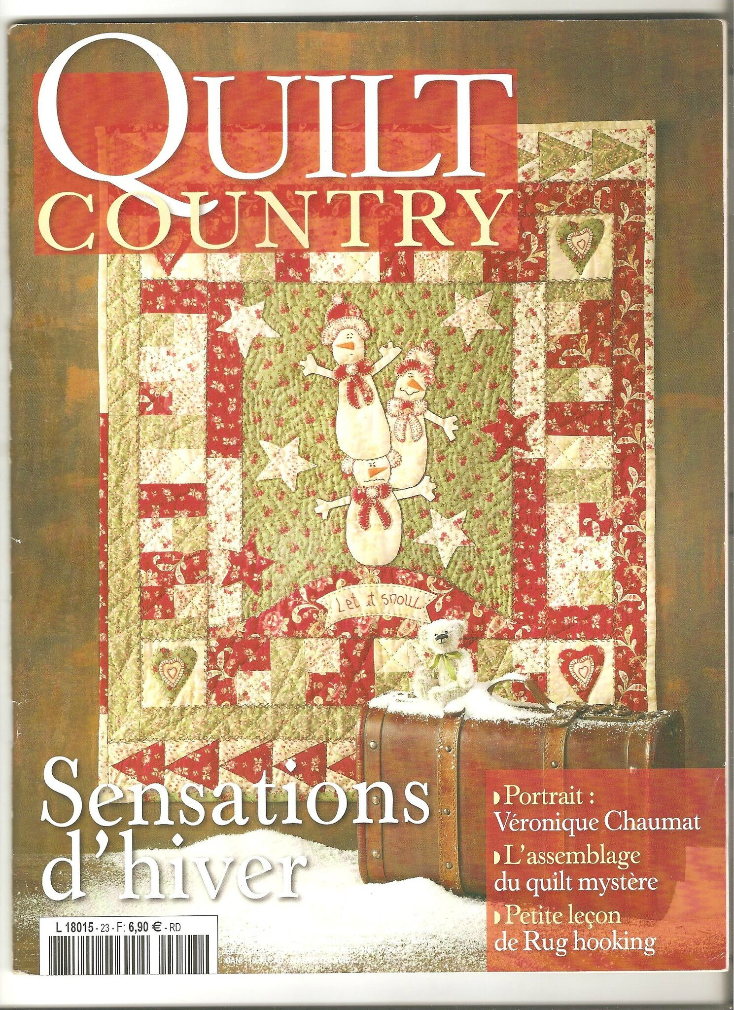 * Magazine Quilt Country n° 22