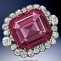 The <b>Hope</b> Spinel. An exceptional 19th century spinel and diamond jewel