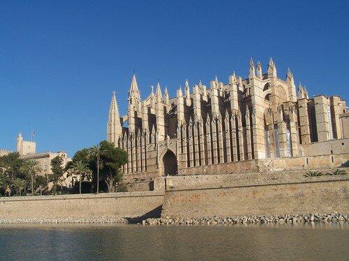 Palma-cathédrale et Almudaina