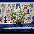 Pochette cadeau - Noël