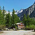 Rando au Pré de Mme Carle - Glacier blanc - Juin 17