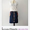 La jupe Désirée de Lolo Stol