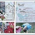 Mini album pour Stamp Enjoy (détail2)