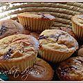 Petits cakes aux pommes et aux carambars