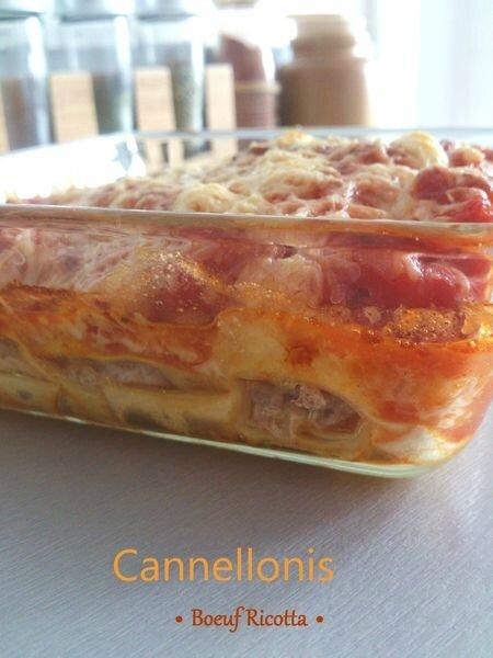 Cannelloni boeuf et ricotta de Delphine