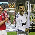 Cristiano ronaldo best player in the liga, sacred champion of spain
