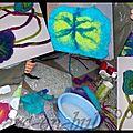 Atelier artistque n°5 :la laine feutrée