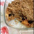 Crumble aux fruits d
