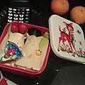 Bento n°72, 73 et 74 : 3 bentos pour un paquet de petits beurres*
