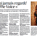 Interview pour le journal
