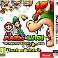 Test de Mario & <b>Luigi</b> : Voyage au centre de Bowser + L'épopée de Bowser Jr - Jeu Video Giga France