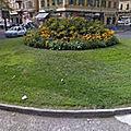 Rond-point à <b>Bastia</b> (Corse)