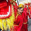 Reportage photo - la chine à la fête pour le carnaval des deux rives de bordeaux, édition 2014 !