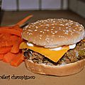 Burger céleri champignon