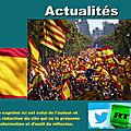 Majorité silencieuse ? 300 000 personnes manifestent à barcelone pour l'unité de l'espagne
