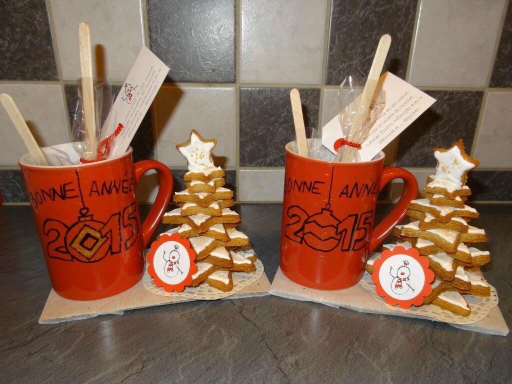 cadeau de bonne année : kit chocolat chaud