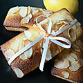 <b>Financiers</b> au Citron