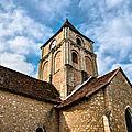 L'église paroissiale de Saint-Martin (haute-ville <b>Angles</b> sur l'Anglin)