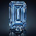 The Oppenheimer Blue: The largest Fancy Vivid Blue <b>diamond</b> offered at auction