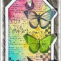 Un tag et des papillons