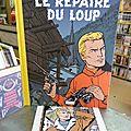 Lefranc, le repaire du loup, j. martin et b. de moor, édition luxe en n&b 250ex + ex libris sérigraphié 75€